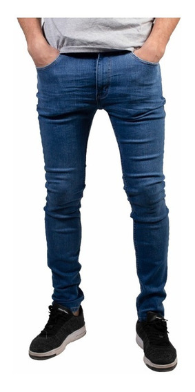 Jeans Hombre Levis 519 Extreme Skinny Celeste