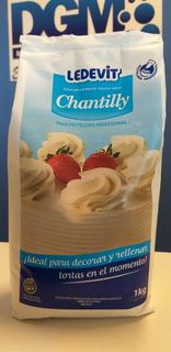 Crema Chantilly En Polvo Ledevit Bolsa X 1 Kg