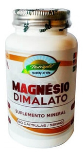 Kit 6 Magnésio Dimalato 60 Cáps Artroses Artrites Reumatismo