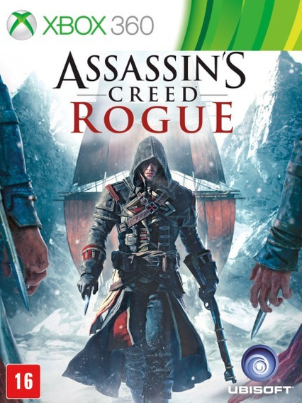 Assassins Creed Rogue (mídia Física) - Xbox 360
