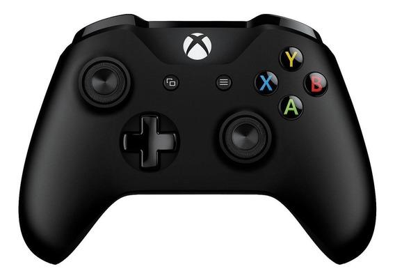 Controle joystick sem fio Microsoft Xbox One black