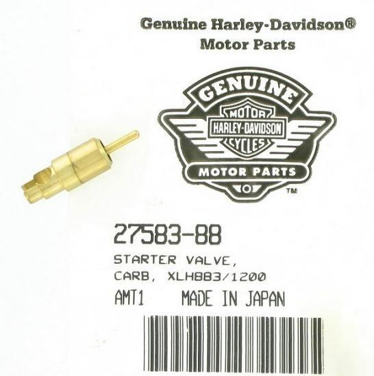 Válvula Do Afogador Carburador Cv Harley Davidson