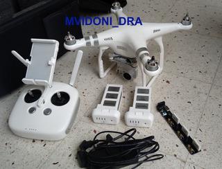 Drone Dji Phantom 3 Advanced + Accesorios+mochila+batería