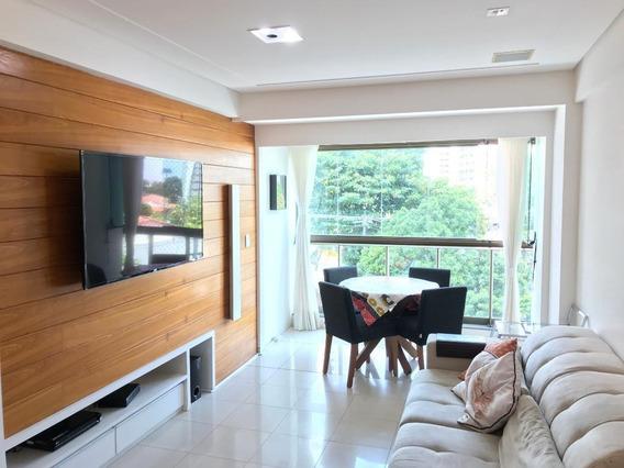 Apartamento Em Casa Forte, Recife/pe De 80m² 3 Quartos À Venda Por R$ 500.000,00 - Ap276416