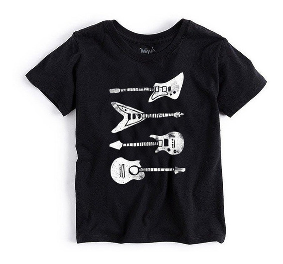 Camiseta Mini Guitarras Reserva Mini