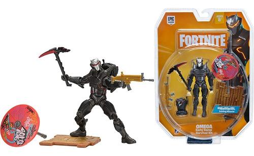 Imagem 1 de 8 de Fortnite - Boneco Omega - Survival Kit - 11 Cm - Original