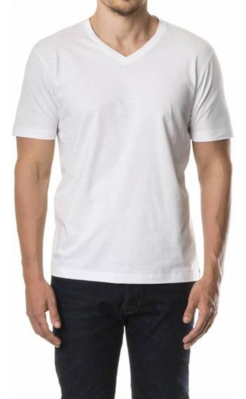 10 Camisetas Gola V Malha Fria Pv Premium Anti Pilling