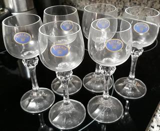 Copas Cristal Bohemia Czech Republic