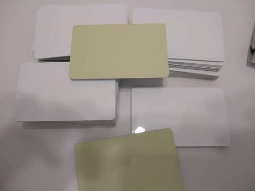 Tarjetaspvc Con Stikers Para Carnets