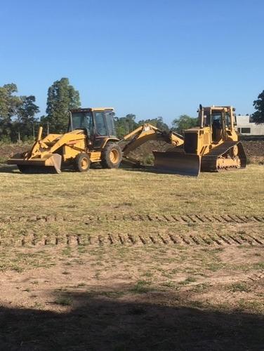 Alquiler De Retro Excavadora, Excavadora, Bulldozer.