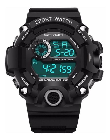Relógio Esportivo Masculino Sanda 326
