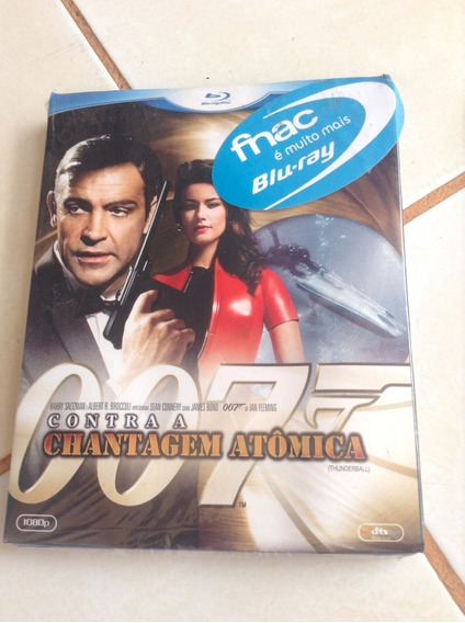 Filme Clássico Bluray James Bond 007 Contra Chantagem Lacrad