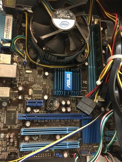 Kit Processador Intel, Placa Mãe, 4gb Mem., 500gb Hd + Wifi