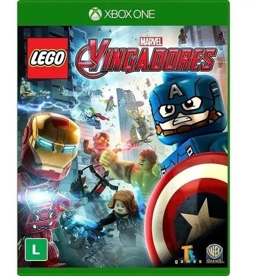 Lego Marvel Vingadores Xbox One Física Mídia Física Novo