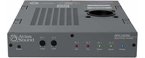 Amplificador Atlas Sound 2 Channel Power Amplificador ®