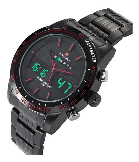 Reloj Hombre Naviforce Militar De Lujo Tactico Original 9024