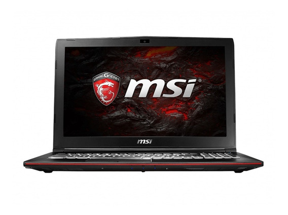 Notebook Msi Leopard Pro Gp62mvr- 6rf I7-6700hq Gtx1060 8gb