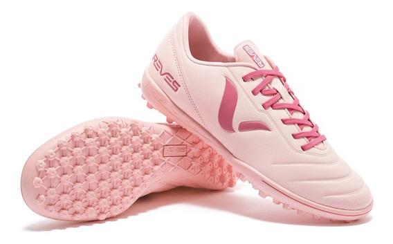 Calzado Botín Reves Fútbol Fire Rosa - Envíos