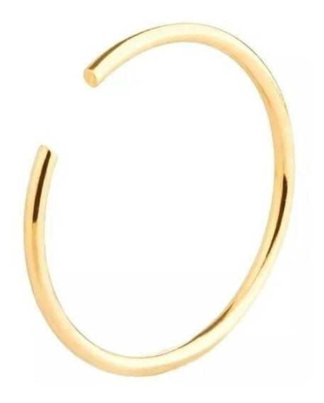 Piercing Feminino Nariz Argola Ouro 18kl/750 9mm