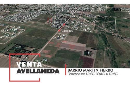 Imagen 1 de 1 de Terreno En Venta En Barrio Martin Fierro, Avda Santa Fe