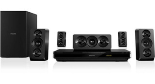 Home Theater Philips 5.1 Htb3510 1000w Hdmi 3d