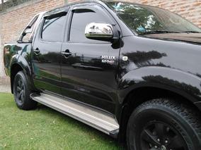 Excelente Y Unica Toyota Hilux 4x4 Srv 3.0 Tdi A/t Cuero