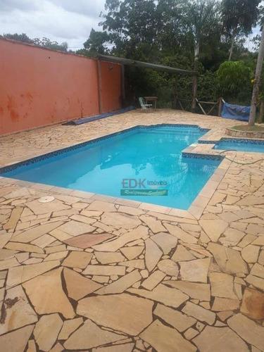 Imagem 1 de 17 de Chácara Com 6 Dormitórios À Venda, 6000 M² Por R$ 530.000,00 - Cocuera - Mogi Das Cruzes/sp - Ch0536