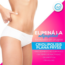 Criolipolisis Plana + Ondas De Choque $1600 Efectivo