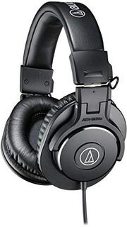 Audífonos Audiotechnica Athm30x Professional Monitor
