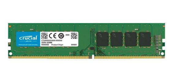 Memoria Ram Pc Crucial Ddr4 16gb 2666mhz