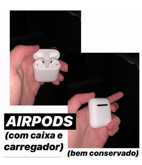 Air Pod Original Appl Ótimo Estado