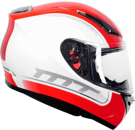 Capacete Moto Mt Revenge Binomy Sharp 5 Estrelas