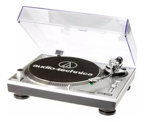 Toca Discos Audio Technica At-lp 120usb/ Direct-drive/ Prata