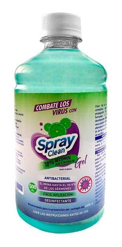 Gel Antibacterial 70% Alcohol Antivirus 500 Ml Hb