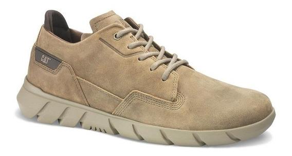 Cat Zapato De Hombre Cuero Engrasado Camberwell