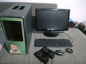 Pc Completo Pentium Dual Core E5200 2.50ghz 3gb Ram 500gb Hd