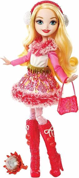 Boneca Barbie Ever Ever After High Epic Winter Apple White