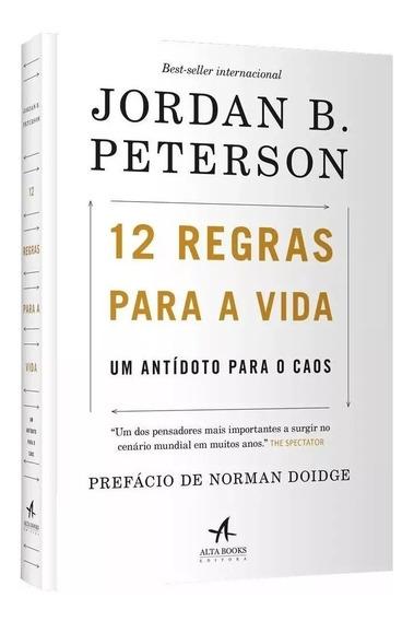 Livro 12 Regras Para A Vida - Um Antídoto Para O Caos