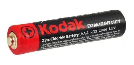 20 Pilha Palito Aaa Zinco Kodak Extra Heavy Duty 1.5v