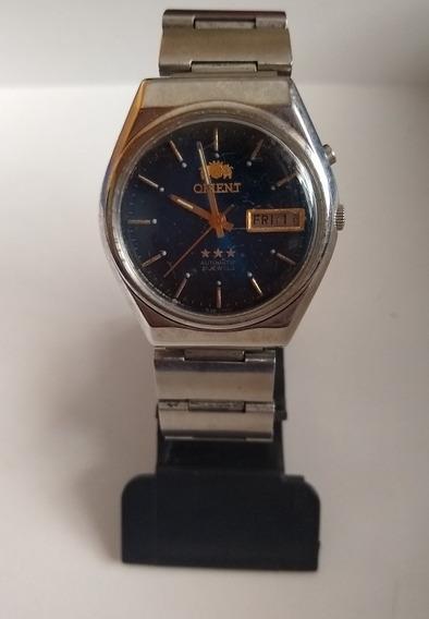 Relógio Masculino Orient 3 Estrelas Os469a362