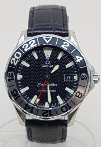 Omega Seamaster  Gmt 50 Years Safira Automatico 41,5mm Ocp