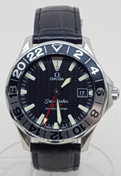 Omega Seamaster Gmt 50 Years Safira Automatico 41,5mm Ocp