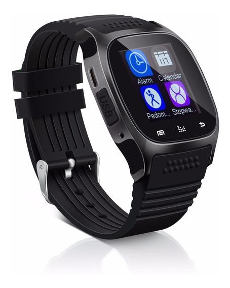 Reloj Inteligente Smartwatch Bluetooth Android / Ios Negro