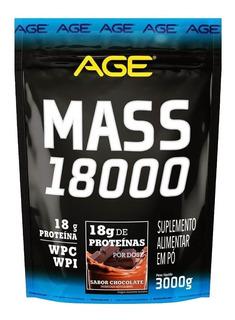 Mass 18000 Hipercalórico 3kg Massa Age Nutrilatina Full