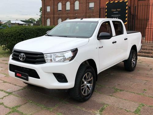 Toyota Hilux 2.4 Dx Diesel 2017 (( Gl Motors )) Financiamos!