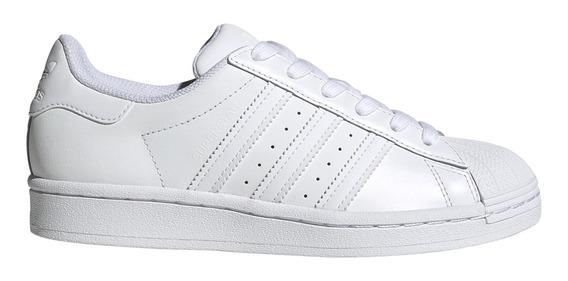 Zapatillas adidas Originals Moda Superstar J Bl/bl