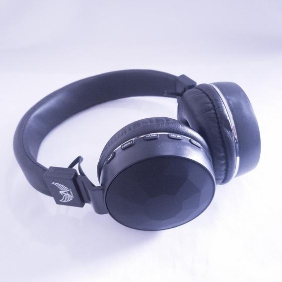 Fone De Ouvido Bluetooth Sem Fio Mp3 Fm Microsd A-856