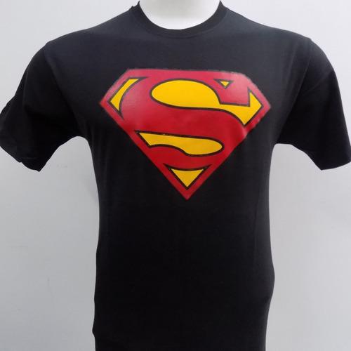 Remera De Superman Comic Superhéroe Rockería Que Sea Rock