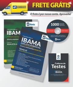 Apostila Ibama - Analista Ambiental Tema 3 Completa - 2019