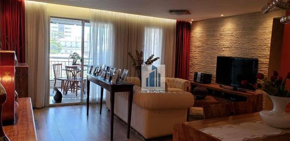 Apartamento Com 3 Dormitórios À Venda, 103 M² Por R$ 580.000 - Ap0014